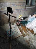Наши проекты - Сверление отверстий под углом в подвал под вытяжку, деревня Глаголево
