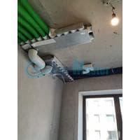 Установка воздуховодов Blaufast для центральной вентиляции