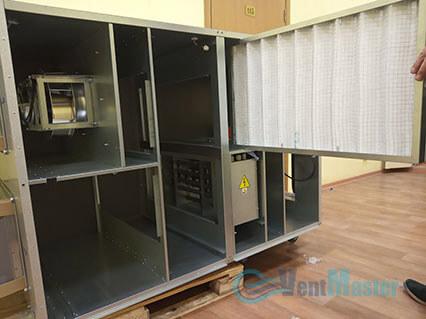 Сняли фильтра с приточно-вытяжной установки Blauberg KOMFORT Roto EC LE2000-12-S17