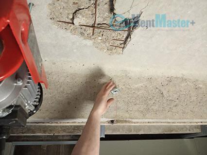 Дополнительные установленные шпильки для крепежа приточно-вытяжной установки Blauberg KOMFORT Roto EC LE2000-12-S17