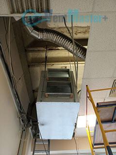 Подъем приточно-вытяжной установки Blauberg KOMFORT Roto EC LE2000-12-S17