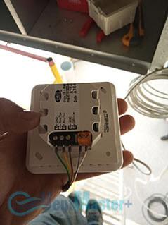 Подключение пульта управления приточно-вытяжной вентиляционной установки Blauberg в офисе Альтуэра
