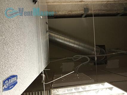 Крепление вытяжного канала для приточно-вытяжной установки Blauberg-KOMFORT-Roto-EC-LE2000