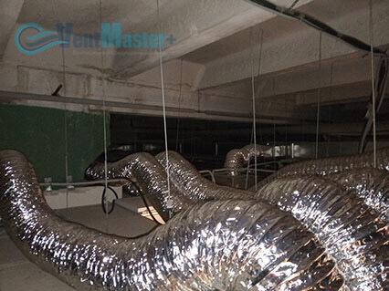 Мы проложили вентиляционную трассу в офисе Альтуэра