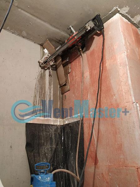 Монтаж приточной установки Minibox E-650 и воздуховодов Blaufast Фото1