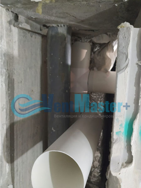 Монтаж приточной установки Minibox E-650 и воздуховодов Blaufast Фото10