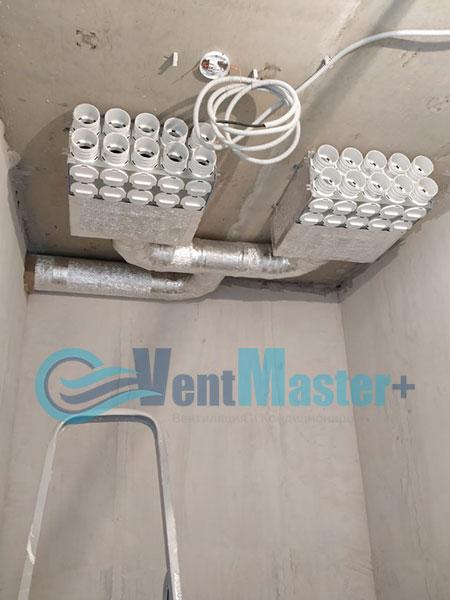 Монтаж приточной установки Minibox E-650 и воздуховодов Blaufast Фото22