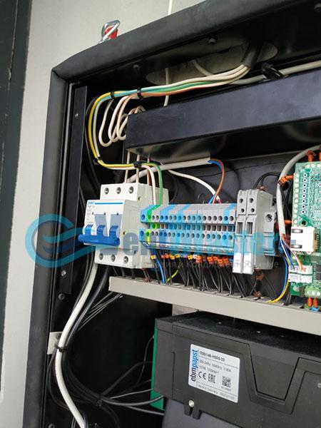 Монтаж приточной установки Minibox E-650 и воздуховодов Blaufast Фото62