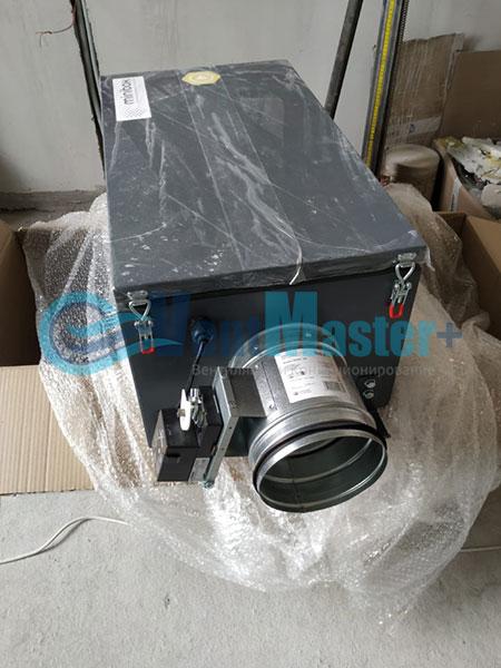 Монтаж приточной установки Minibox E-650 и воздуховодов Blaufast Фото50
