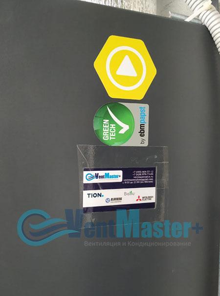 Монтаж приточной установки Minibox E-650 и воздуховодов Blaufast Фото53