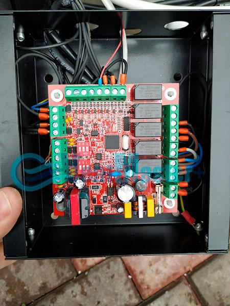 Монтаж приточной установки Minibox E-300 Zentec c шумоглушителем Фото8
