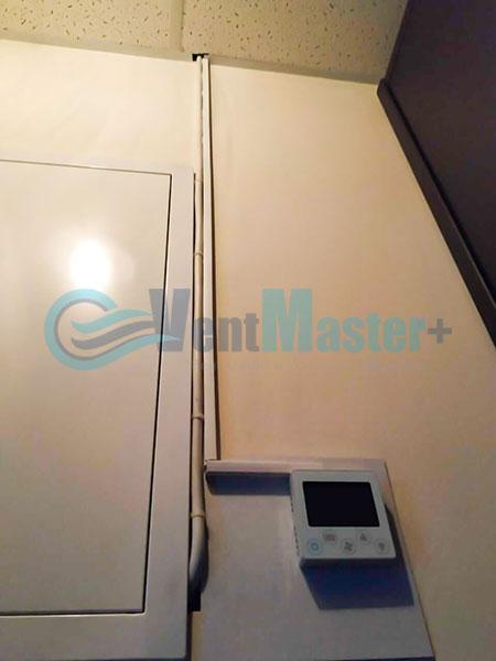 Монтаж Minibox E-650 для центральной вентиляции Фото 2