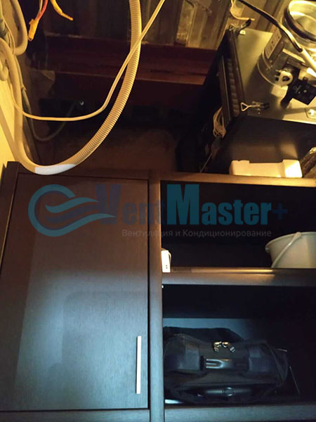 Монтаж Minibox E-650 для центральной вентиляции Фото 3