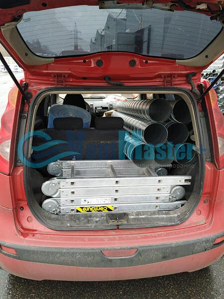 Монтаж Minibox-E650-Blaufast-RK-01-ЖК-Сильвер Фото2