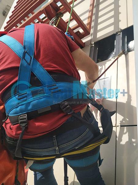 Монтаж Minibox-E650-ЖК-Спасский-мост Фото8