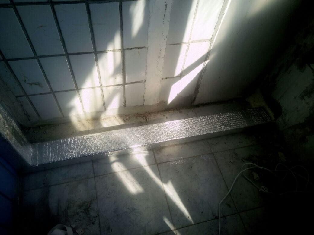 Прокладка канала через балкон для Tion 3S Standard, метро Домодедовская