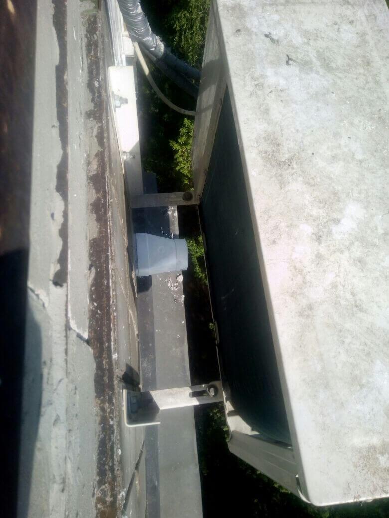 Крепление кондиционера на балконе, метро Домодедовская