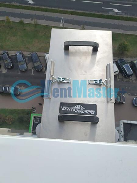 Монтаж 2х приточных установок Ventmachine Satellite 2 Фото17