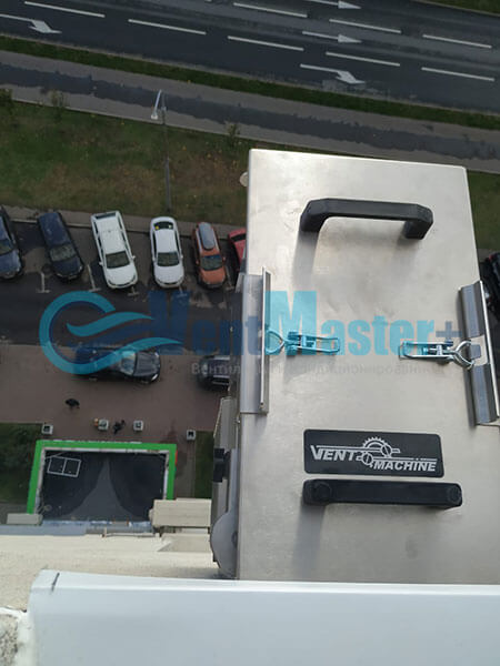Монтаж 2х приточных установок Ventmachine Satellite 2 Фото18