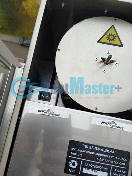 Монтаж 2х приточных установок Ventmachine Satellite 2 Фото25