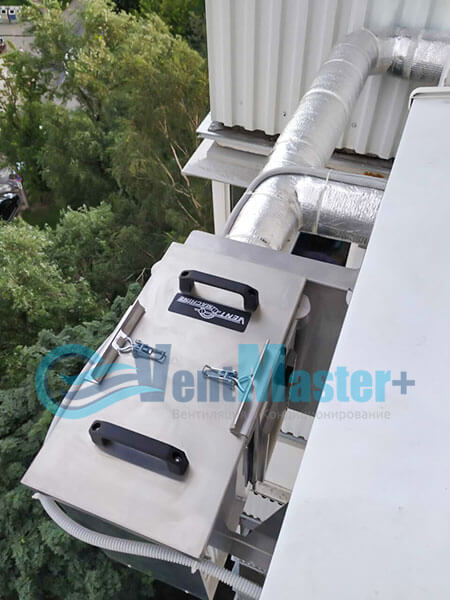 Монтаж приточной установки Ventmachine Satellite 2 Фото11