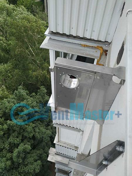 Монтаж приточной установки Ventmachine Satellite 2 Фото12