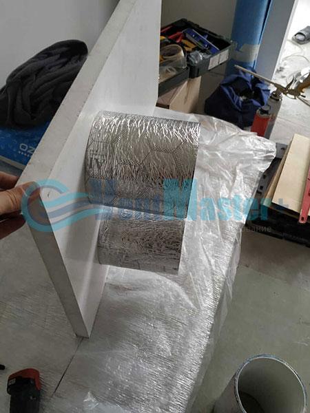 Установка воздуховодов Blaufast для центральной вентиляции Фото10