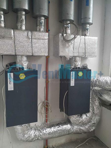 Установка воздуховодов Blaufast для центральной вентиляции Фото12