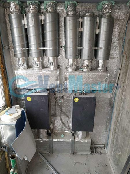 Установка воздуховодов Blaufast для центральной вентиляции Фото2