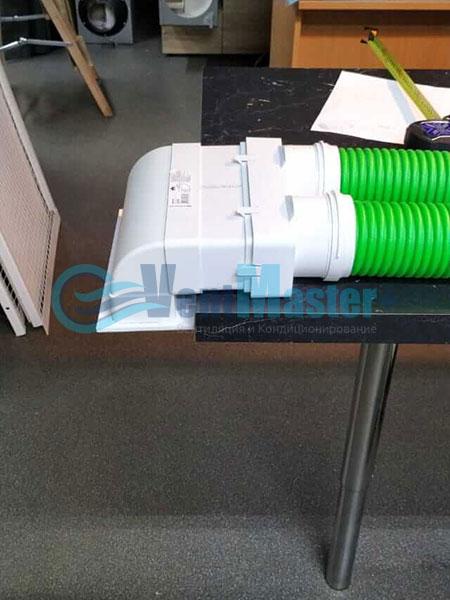 Установка воздуховодов Blaufast для центральной вентиляции Фото26
