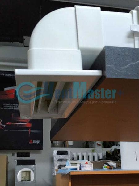 Установка воздуховодов Blaufast для центральной вентиляции Фото27