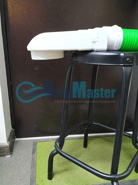 Установка воздуховодов Blaufast для центральной вентиляции Фото30