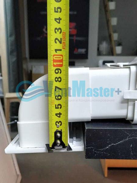 Установка воздуховодов Blaufast для центральной вентиляции Фото31
