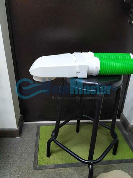 Установка воздуховодов Blaufast для центральной вентиляции Фото32