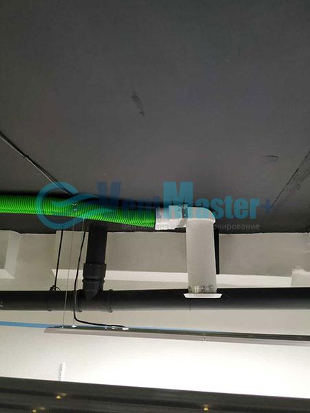 Установка воздуховодов Blaufast для центральной вентиляции Фото33