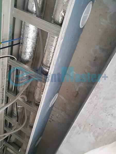 Установка воздуховодов Blaufast для центральной вентиляции Фото5