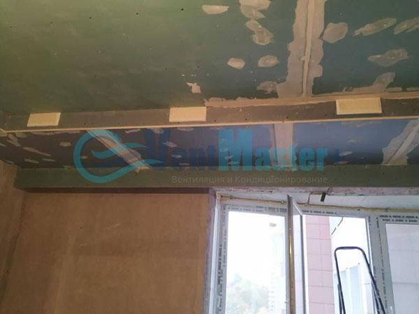 Установка воздуховодов Blaufast для центральной вентиляции Фото7