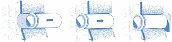 Схема монтажа колпака Blauberg PP