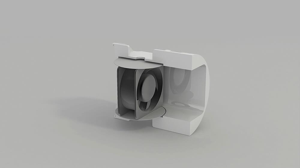 Вентиляционный блок для Vakio Base Plus